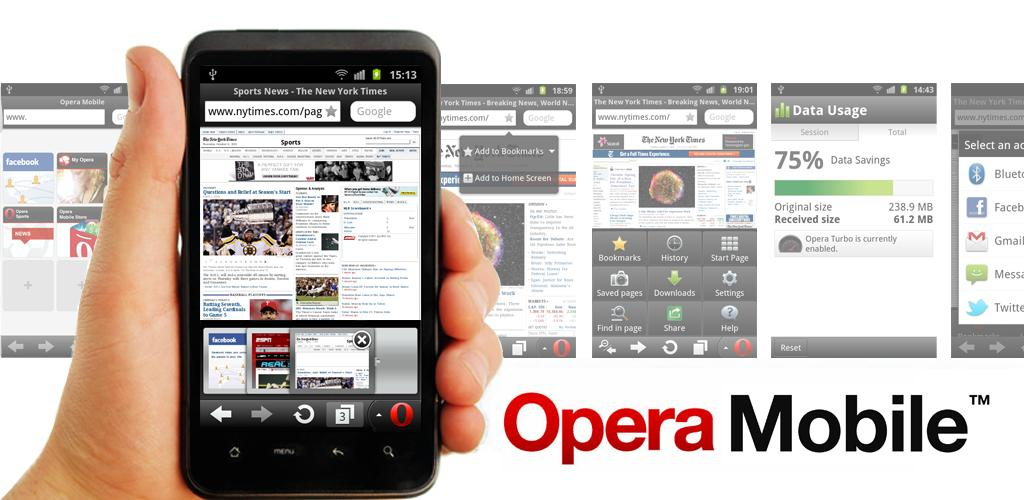 Opera Mobile For Android